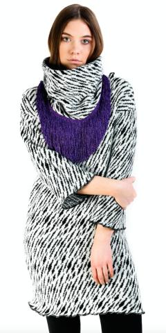 Tiger sweater dress
