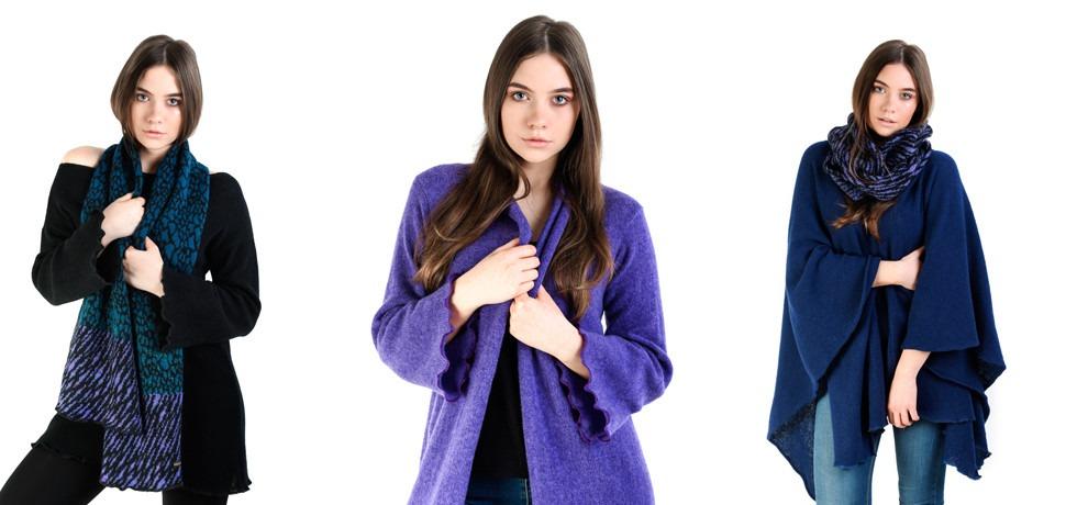 New Collection -- Heather Finn Knitwear -- Autumn / Winter 2016