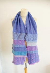 China Blue Scarf