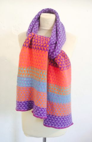 Blaze Magic triangles scarf