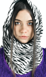 Mono Jungle Snood