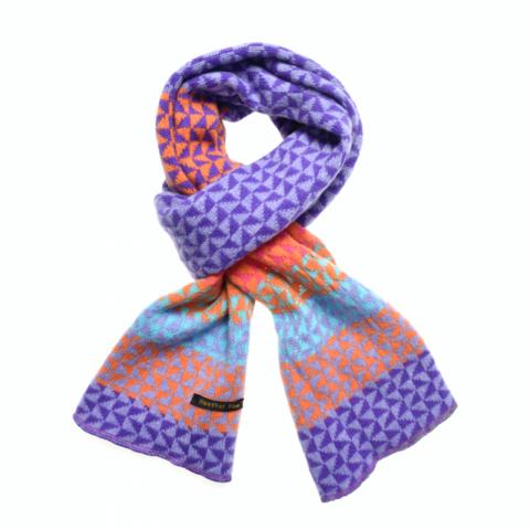 Blaze Magic triangles scarf