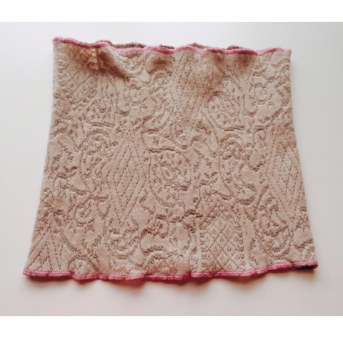 Lace Knit Neckwarmer